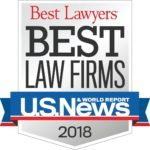 Best Law Firms Badge - 2018
